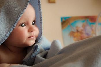 Bébé rougeur autour de la bouche