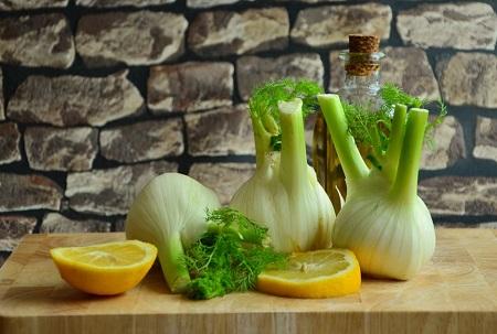 salade fenouil vegan entrée